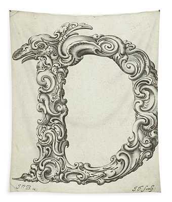 Letter D Tapestry