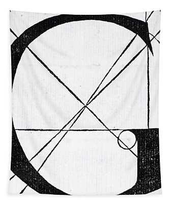 Letter G Tapestry