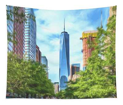 Liberty Tower Tapestry