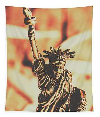 Liberty Will Enlighten The World Tapestry
