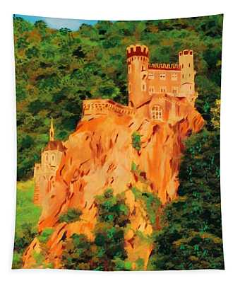 Lichtenstein Castle Tapestry