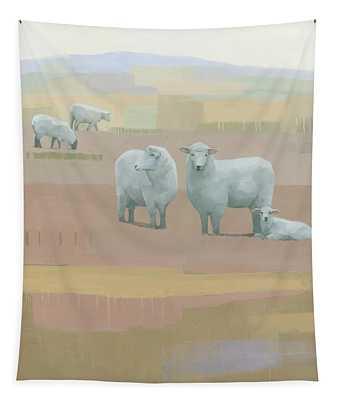 Life Between Seams Tapestry