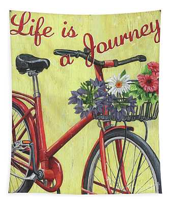 Life Is A Journey Tapestry