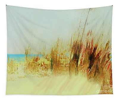 Life Is Better On The Beach Tapestry