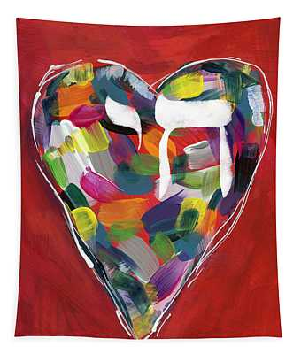 Life Is Colorful - Art By Linda Woods Tapestry