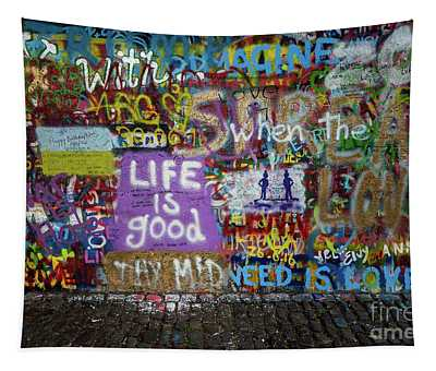Tapestry featuring the photograph Life Is Good by M G Whittingham