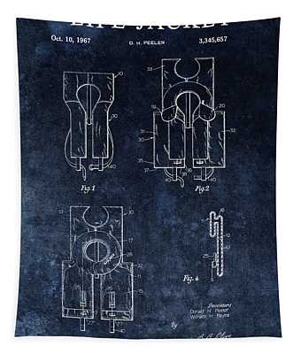 Life Jacket Patent Tapestry