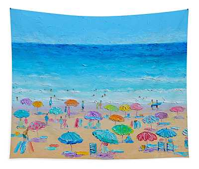 Life On The Beach Tapestry