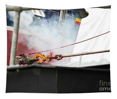 Lifeboat Chocks Away  Tapestry