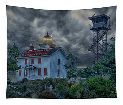 Lighthouse Greetings Tapestry