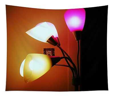 Lighting The Room Tapestry