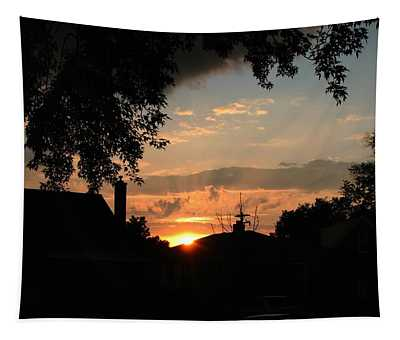 Lights Out Tapestry