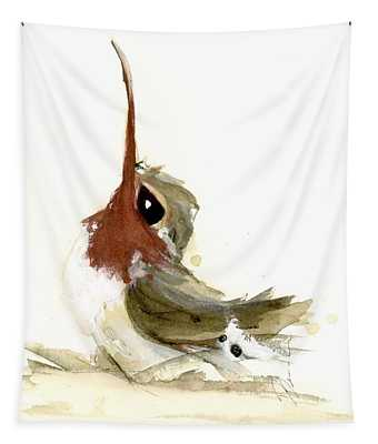 Lil Hummer Tapestry