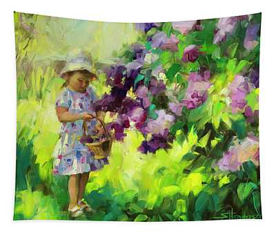 Lilac Festival Tapestry