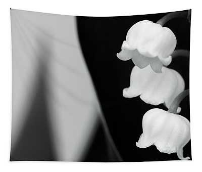 Lily Of The Valley Abstract Tapestry