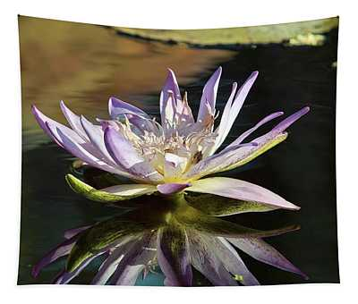 Lily Reflections Tapestry