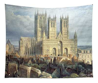 Lincoln Cathedral From The North West Tapestry