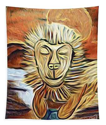 Lion Of Judah II Tapestry