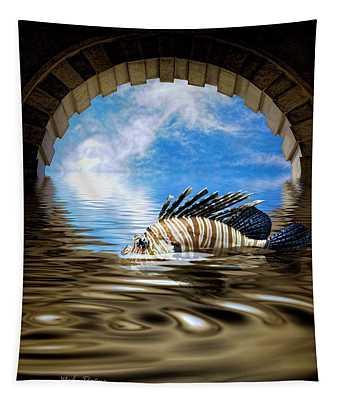 Liquid Obscura Tapestry