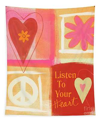 Listen To Your Heart Tapestry