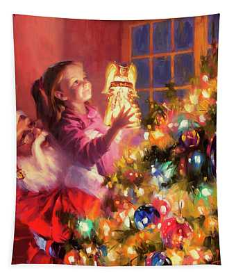 Little Angel Bright Tapestry