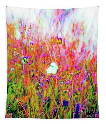 Little Butterfly Fly Tapestry