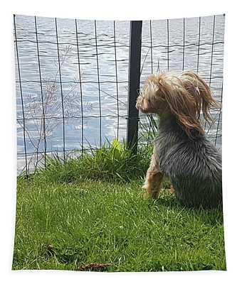 Enjoying The Breeze Tapestry