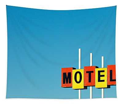 Little Motel Sign Tapestry