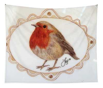 Little Robin Redbreast Tapestry