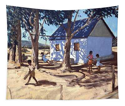 Little White House Karoo South Africa Tapestry