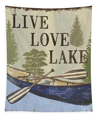 Live, Love Lake Tapestry
