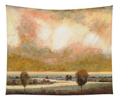 Lo Stagno Sotto Al Cielo Tapestry
