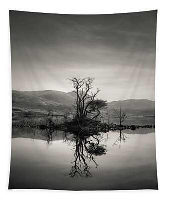 Loch Assynt Reflection Tapestry