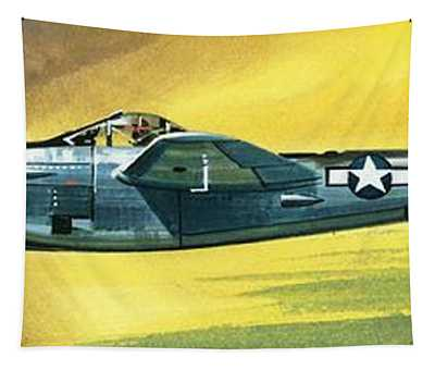 Lockheed P-38j Lightning Tapestry