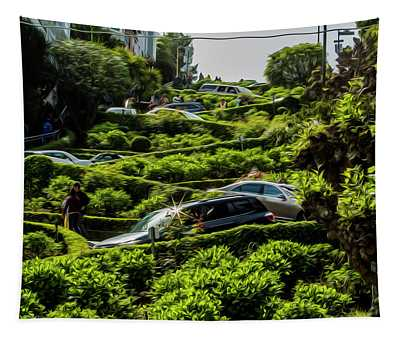 Lombard Street Tapestry