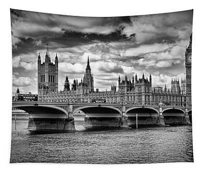 London Houses Of Parliament And Westminster Bridge Tapestry