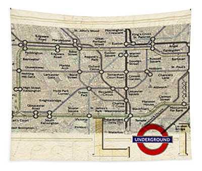 London Underground Tapestry