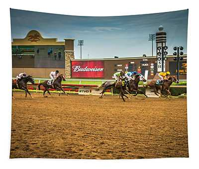 Lone Star Park Grand Prairie Texas Tapestry