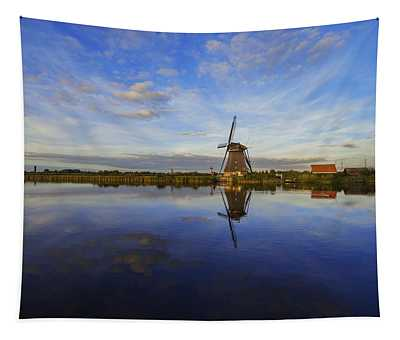 Lone Windmill Tapestry