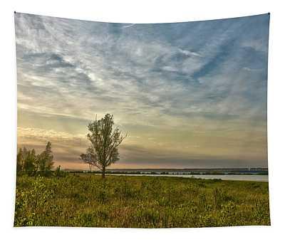Lonely Tree In Dintelse Gorzen Tapestry