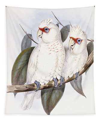 Long-billed Cockatoo Tapestry