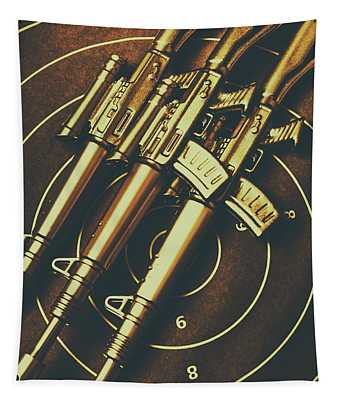 Long Range Tactical Rifles Tapestry
