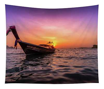 Longtail Sunset Tapestry