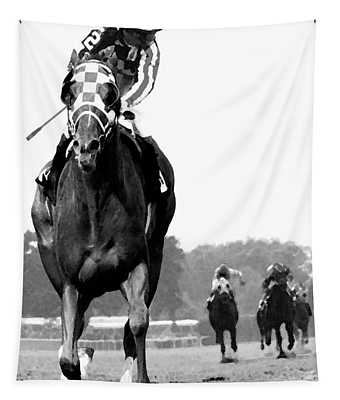 Looking Back, 1973 Secretariat, Stretch Run, Belmont Stakes Tapestry