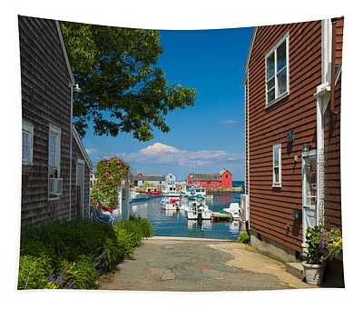 Looking Rockport Tapestry