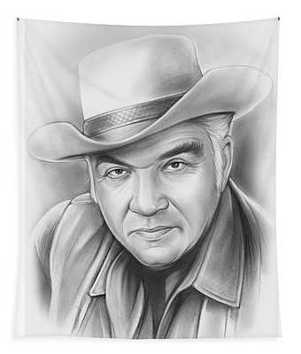 Lorne Greene Tapestry