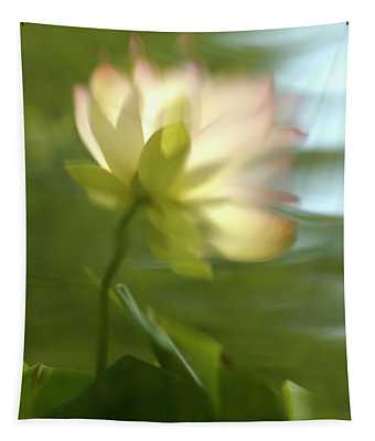 Lotus Reflection Tapestry