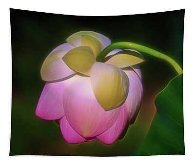 Lotus, Upside Down  Tapestry