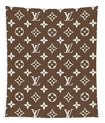 Louis Vuitton Pattern - Lv Pattern 05 - Fashion And Lifestyle Tapestry
