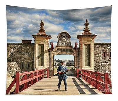 Louisbourg Fortress, Nova Scotia Tapestry